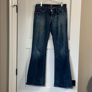 """Seven for all mankind """"flare"""" jeans - size 26"""